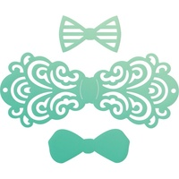 Couture Creations Mini Die Gentleman's Emporium Filigree Bow Tie