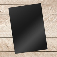 Couture Creations A4 Adhesive Black Vinyl 10 Sheets