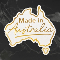Cut and Foil Die Hotfoil Stamp Sunburnt Country Made In Australia