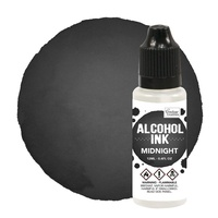 Couture Creations Alcohol Ink Pitch Black/Midnight 12ml