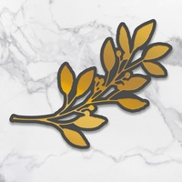 Couture Creations  New Adventures Cut Foil Die Olive Branch