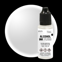 Couture Creations Alcohol Ink Fluro White 12ml