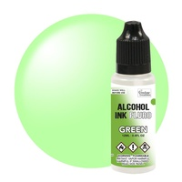 Couture Creations Alcohol Ink Fluro Green 12ml