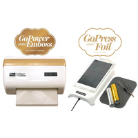 GoPower and Emboss + GoPress Hotfoil V2 Bundle