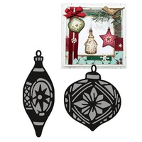 Marianne Design Craftables Dies Tiny Ornaments Baubles CR1379