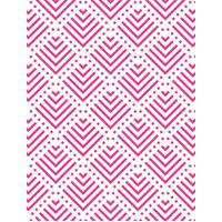 CRAFT CONCEPTS Embossing Folder Pyramids 4.25 x 5.5
