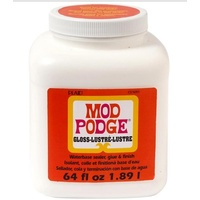 Mod Podge Gloss Lustre 64oz 1.89L