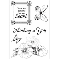 KaiserCraft Clear Stamps Ooh La La CS274