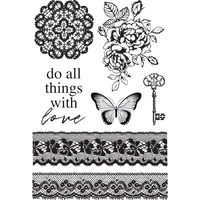 KaiserCraft Clear Stamps Lady Like CS374