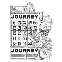 KaiserCraft Clear Stamps Vintage Journey CS829