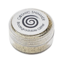Cosmic Shimmer Biodegradable Glitter 10ml Bright Gold