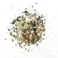 Cosmic Shimmer Biodegradable Glitter Mix 10ml Butterscotch