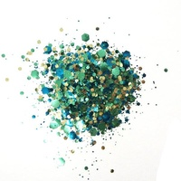 Cosmic Shimmer Biodegradable Glitter Mix 10ml Sea Breeze
