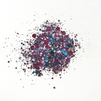 Cosmic Shimmer Biodegradable Glitter Mix 10ml Violet Dream