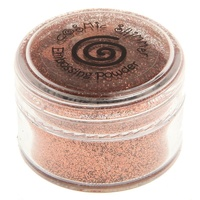 Cosmic Shimmer Brilliant Sparkle Embossing Powder Copper Kettle