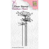 Nellie Snellen Clear Stamps Condolence Flower 1 CSCF001