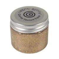 Cosmic Shimmer Sparkle Texture Paste Warm Gold 50ml