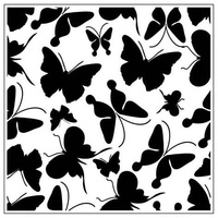 Crafts-Too Embossing Folder Butterflies 14cm x 14cm