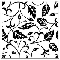 Crafts-Too Embossing Folder Leaves 14cm x 14cm