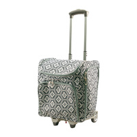 Craft Rolling Travel Trolley Tote Bag - Black