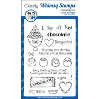 Whimsy Stamps Crazy For Chocolate