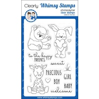 Whimsy Stamps Baby Animals