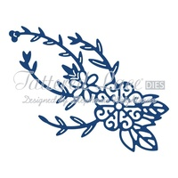 Tattered Lace Die Spinning Charm Flower D780