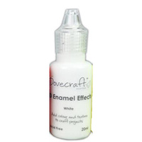 Dovecraft 3D Enamel Effects Paint White