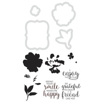 KaiserCraft Die & Stamp Watercolour Friends