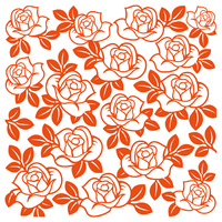 Marianne Design Embossing Folder 5x5 Roses DF3423