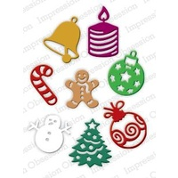 Impression Obsession Die Christmas Icons DIE220Q