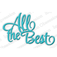 Impression Obsession Die All the Best DIE522E