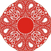 Cheery Lynn Designs Dies Celtic Fire Doily DL109
