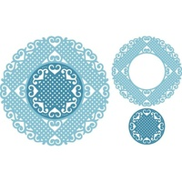 Cheery Lynn Designs Dies Lords & Commons Doily (Set of 2)