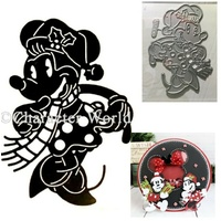 Disney Vintage Minnie Mouse Die DUS0102