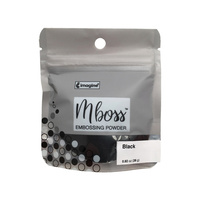 Imagine Crafts Mboss Embossing Powder 15g Black