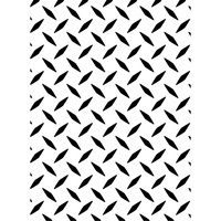 DARICE Embossing Folder Diamond Plate 10.5cm x 14.5cm