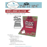 Elizabeth Craft Designs Dies Merry Christmas Pop Up