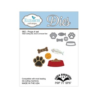 Elizabeth Craft Designs Dies Props 4 Set