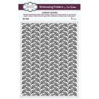 Sue Wilson Embossing Folder 5.75 x 7.5 Linear Leaves