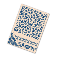 Tattered Lace Embossing Folder Autumn Leaves