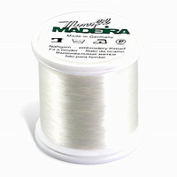 Madeira Monofil Thread No. 60 Clear 1,000 meters Fine Invisible Thread