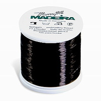 Madeira Monofil Thread No. 40 Smoke (Black) 1,000 meters Invisible Thread