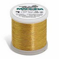 Madeira Heavy Metal Machine Embroidery Thread No. 30 Gold 200m