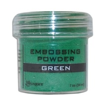 Ranger Embossing Powder 1 Ounce GREEN