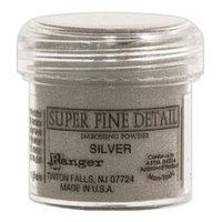 Ranger Super Fine Detail Embossing Powder 1 Ounce SILVER