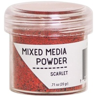 Ranger Mixed Media Powder 20g Scarlet