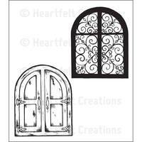 Heartfelt Creations Cling Stamps Grand Portal