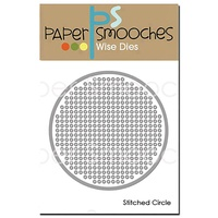 Paper Smooches Die Stitched Circle