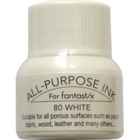 Tsukineko All Purpose Ink for Fantastix 15ml Moonlight White